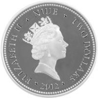 Реверс монеты «Мальчик на лотосе»